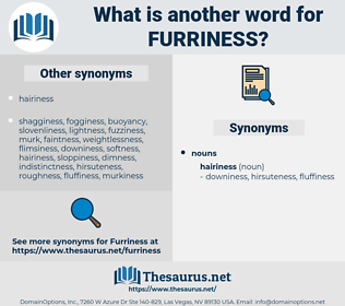furriness, synonym furriness, another word for furriness, words like furriness, thesaurus furriness