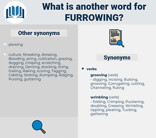 Furrowing, synonym Furrowing, another word for Furrowing, words like Furrowing, thesaurus Furrowing