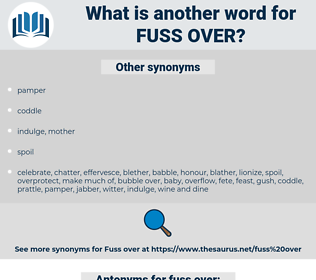 fuss over, synonym fuss over, another word for fuss over, words like fuss over, thesaurus fuss over