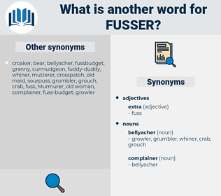 fusser, synonym fusser, another word for fusser, words like fusser, thesaurus fusser