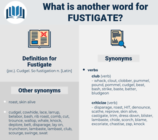 Fustigate, synonym Fustigate, another word for Fustigate, words like Fustigate, thesaurus Fustigate