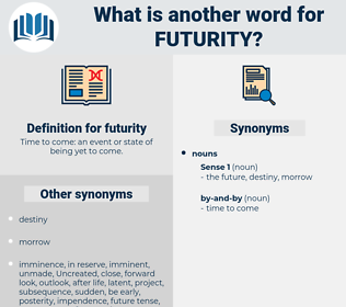 futurity, synonym futurity, another word for futurity, words like futurity, thesaurus futurity