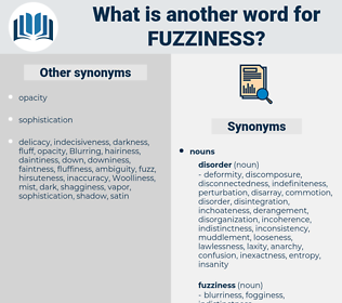 fuzziness, synonym fuzziness, another word for fuzziness, words like fuzziness, thesaurus fuzziness