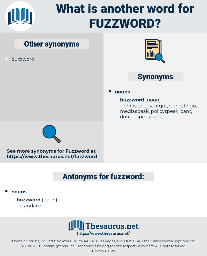 fuzzword, synonym fuzzword, another word for fuzzword, words like fuzzword, thesaurus fuzzword