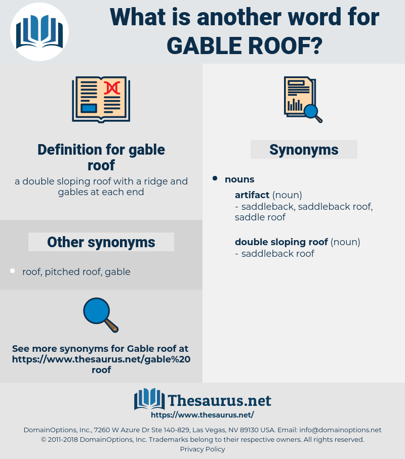 gable roof, synonym gable roof, another word for gable roof, words like gable roof, thesaurus gable roof