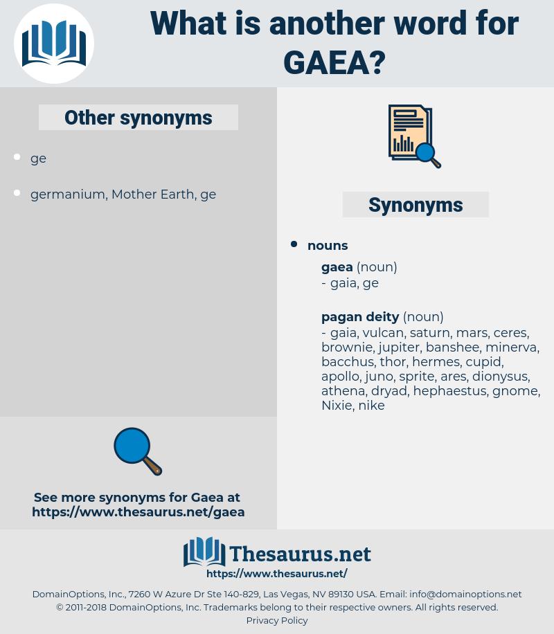 gaea, synonym gaea, another word for gaea, words like gaea, thesaurus gaea
