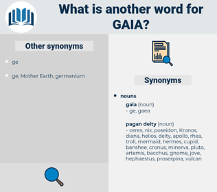 gaia, synonym gaia, another word for gaia, words like gaia, thesaurus gaia