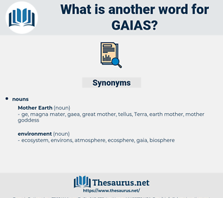 gaias, synonym gaias, another word for gaias, words like gaias, thesaurus gaias