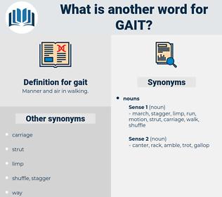gait, synonym gait, another word for gait, words like gait, thesaurus gait