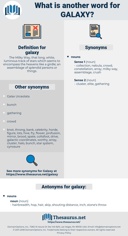 galaxy, synonym galaxy, another word for galaxy, words like galaxy, thesaurus galaxy