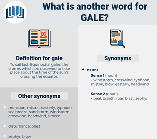 gale, synonym gale, another word for gale, words like gale, thesaurus gale