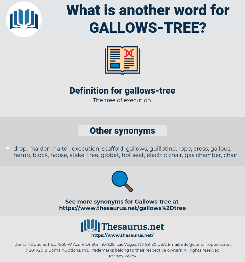 gallows-tree, synonym gallows-tree, another word for gallows-tree, words like gallows-tree, thesaurus gallows-tree