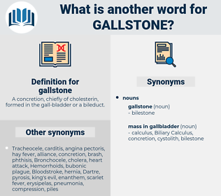 gallstone, synonym gallstone, another word for gallstone, words like gallstone, thesaurus gallstone