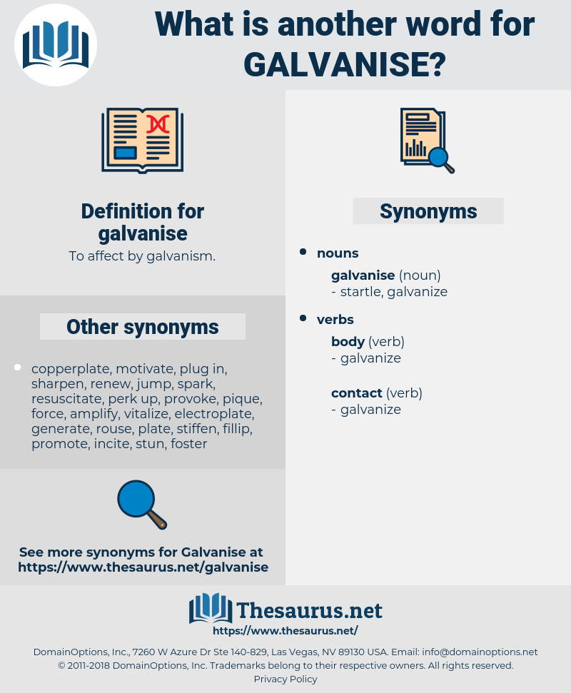 galvanise, synonym galvanise, another word for galvanise, words like galvanise, thesaurus galvanise