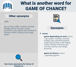 game of chance, synonym game of chance, another word for game of chance, words like game of chance, thesaurus game of chance