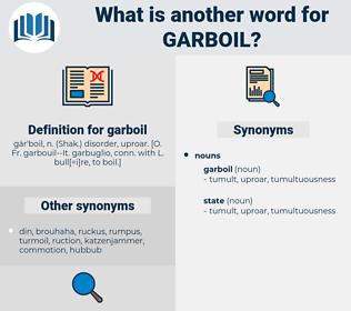 garboil, synonym garboil, another word for garboil, words like garboil, thesaurus garboil