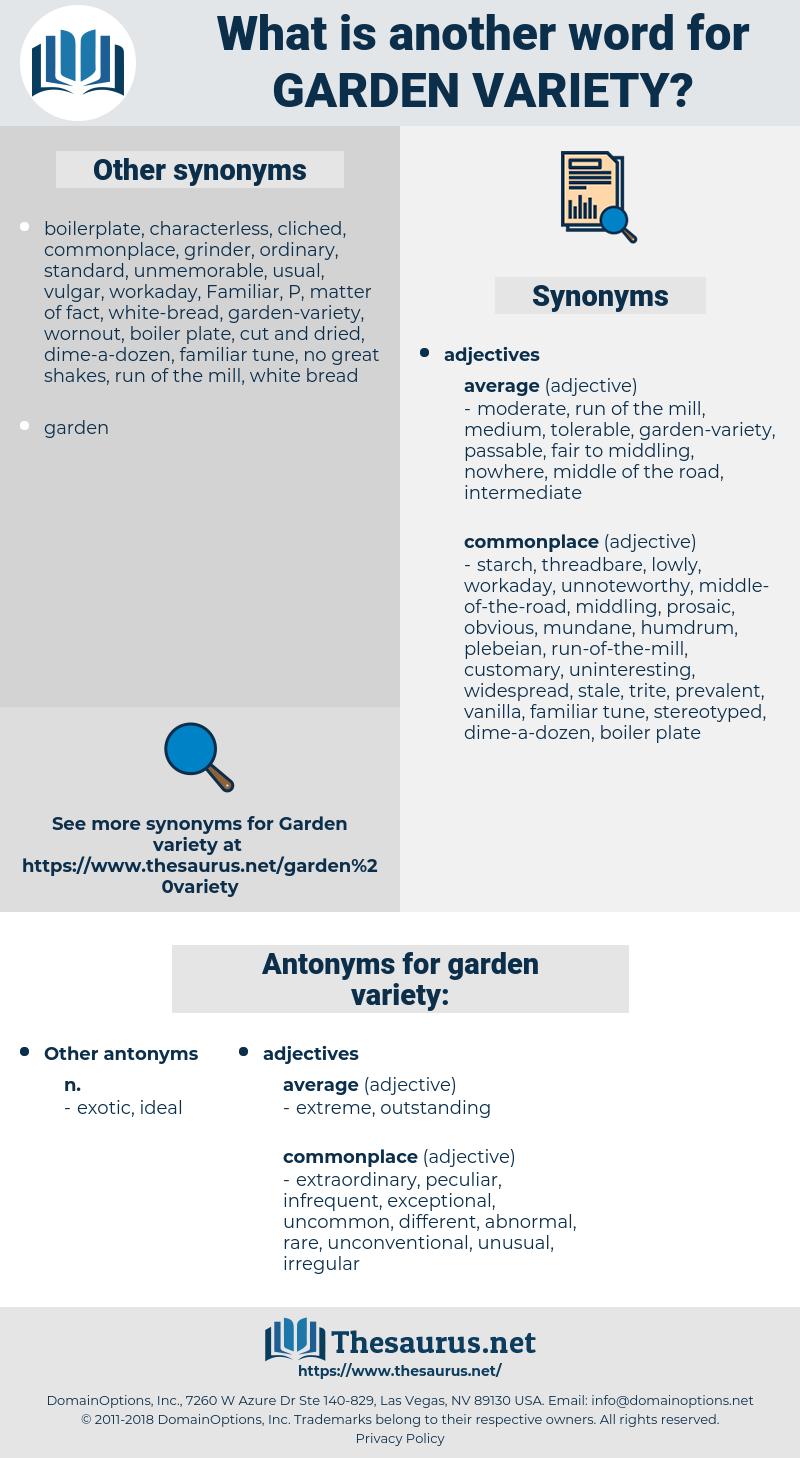 garden-variety, synonym garden-variety, another word for garden-variety, words like garden-variety, thesaurus garden-variety