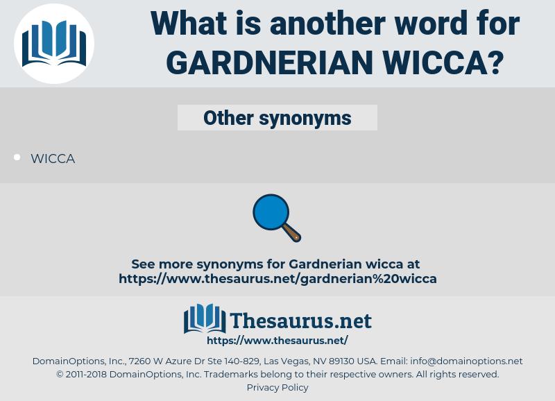gardnerian wicca, synonym gardnerian wicca, another word for gardnerian wicca, words like gardnerian wicca, thesaurus gardnerian wicca