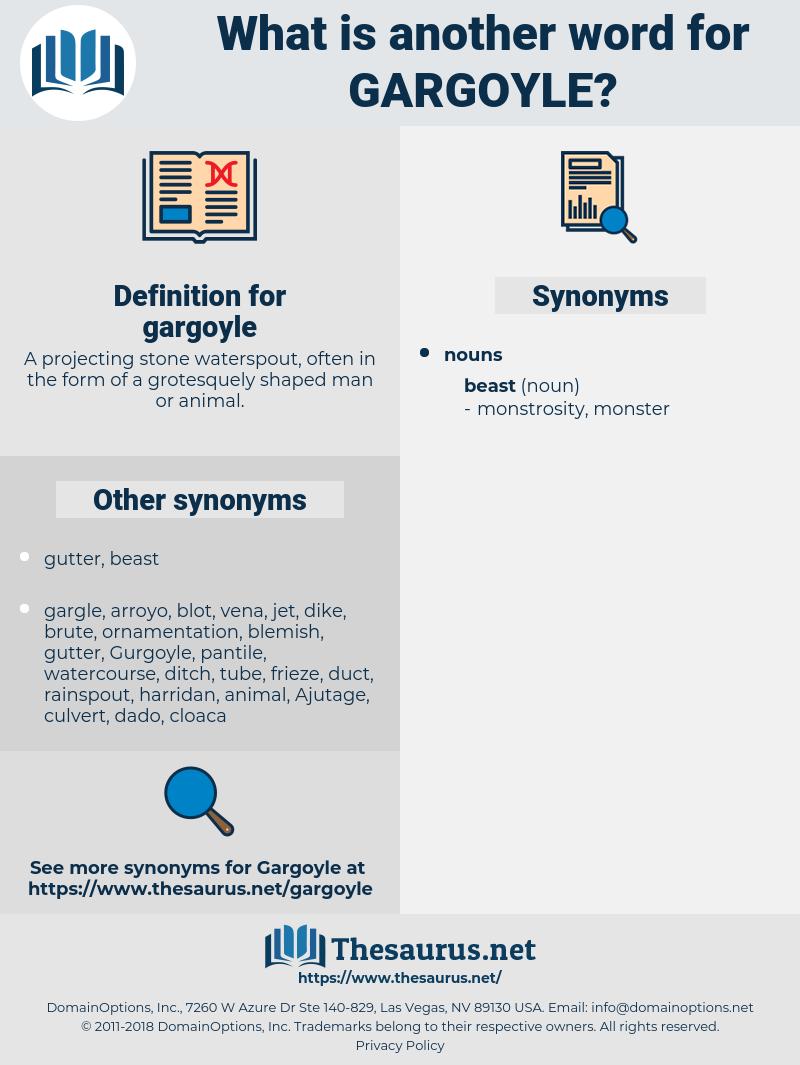 gargoyle, synonym gargoyle, another word for gargoyle, words like gargoyle, thesaurus gargoyle