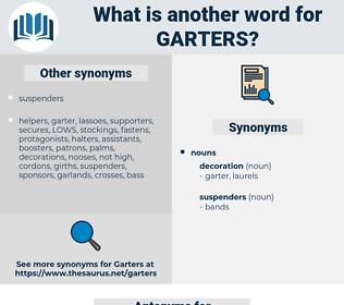 garters, synonym garters, another word for garters, words like garters, thesaurus garters