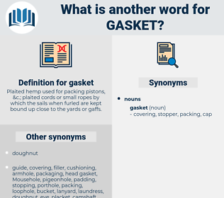 gasket, synonym gasket, another word for gasket, words like gasket, thesaurus gasket