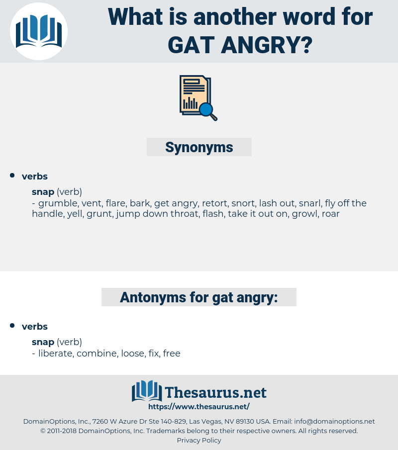 gat angry, synonym gat angry, another word for gat angry, words like gat angry, thesaurus gat angry