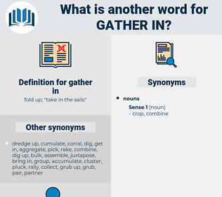 gather in, synonym gather in, another word for gather in, words like gather in, thesaurus gather in