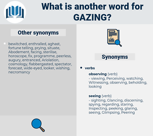 Gazing, synonym Gazing, another word for Gazing, words like Gazing, thesaurus Gazing