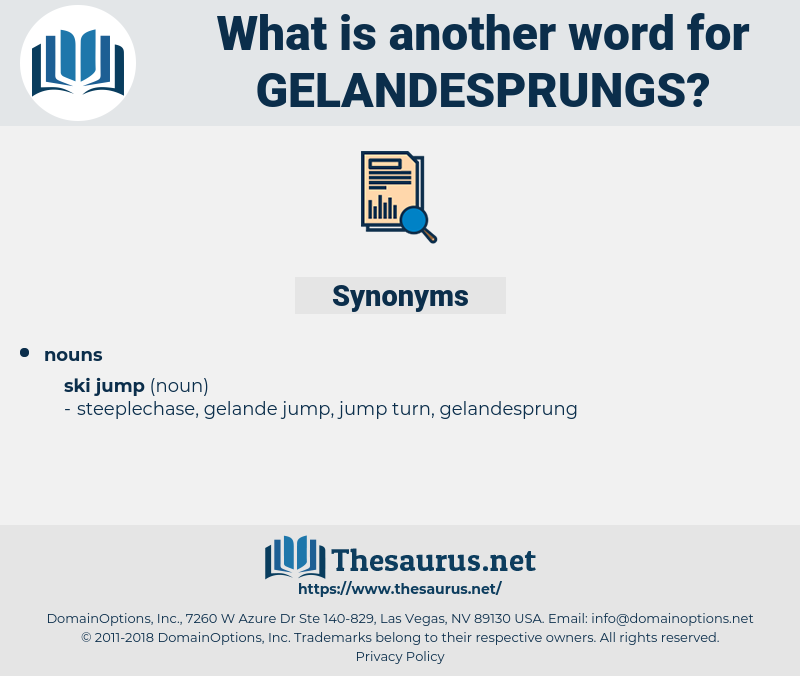 gelandesprungs, synonym gelandesprungs, another word for gelandesprungs, words like gelandesprungs, thesaurus gelandesprungs