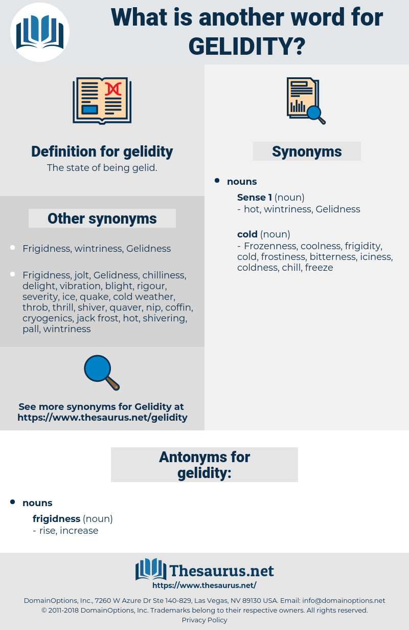 gelidity, synonym gelidity, another word for gelidity, words like gelidity, thesaurus gelidity