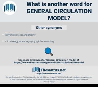 general circulation model, synonym general circulation model, another word for general circulation model, words like general circulation model, thesaurus general circulation model