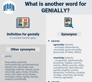 genially, synonym genially, another word for genially, words like genially, thesaurus genially