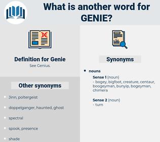 Genie, synonym Genie, another word for Genie, words like Genie, thesaurus Genie