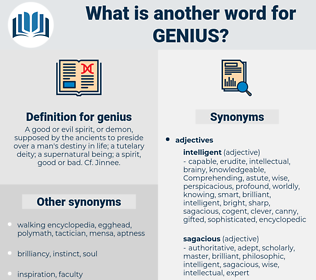 genius, synonym genius, another word for genius, words like genius, thesaurus genius