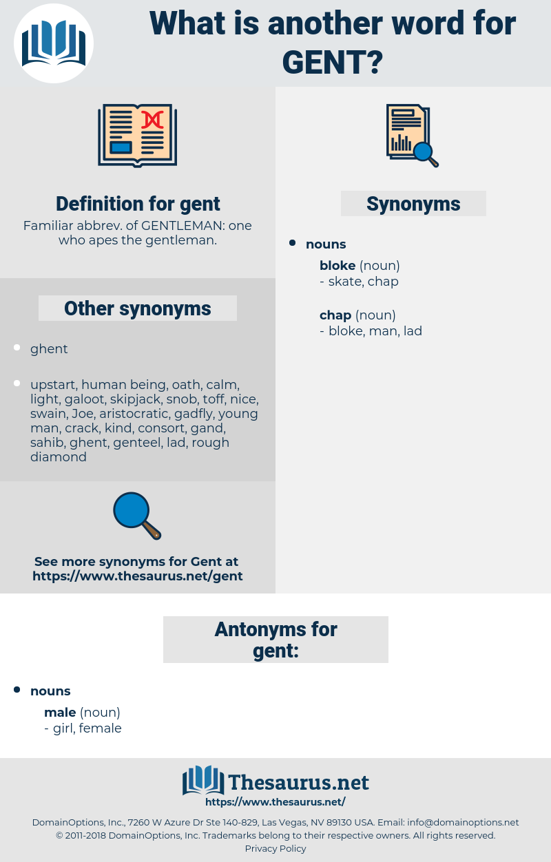 gent, synonym gent, another word for gent, words like gent, thesaurus gent