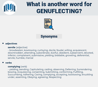 Genuflecting, synonym Genuflecting, another word for Genuflecting, words like Genuflecting, thesaurus Genuflecting