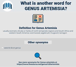 Genus Artemisia, synonym Genus Artemisia, another word for Genus Artemisia, words like Genus Artemisia, thesaurus Genus Artemisia