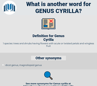 Genus Cyrilla, synonym Genus Cyrilla, another word for Genus Cyrilla, words like Genus Cyrilla, thesaurus Genus Cyrilla