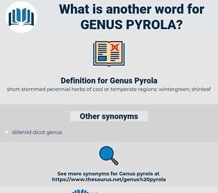 Genus Pyrola, synonym Genus Pyrola, another word for Genus Pyrola, words like Genus Pyrola, thesaurus Genus Pyrola