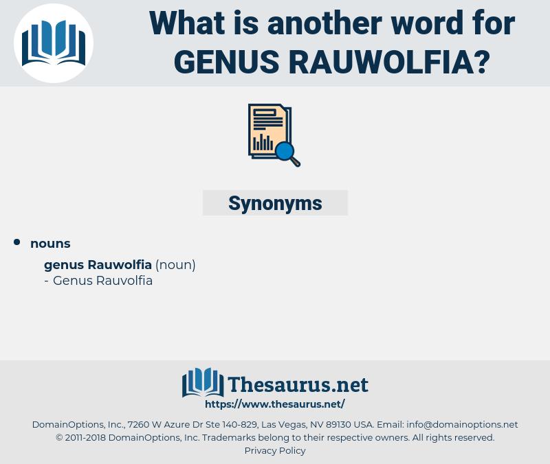 Genus Rauwolfia, synonym Genus Rauwolfia, another word for Genus Rauwolfia, words like Genus Rauwolfia, thesaurus Genus Rauwolfia