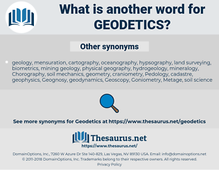 Geodetics, synonym Geodetics, another word for Geodetics, words like Geodetics, thesaurus Geodetics