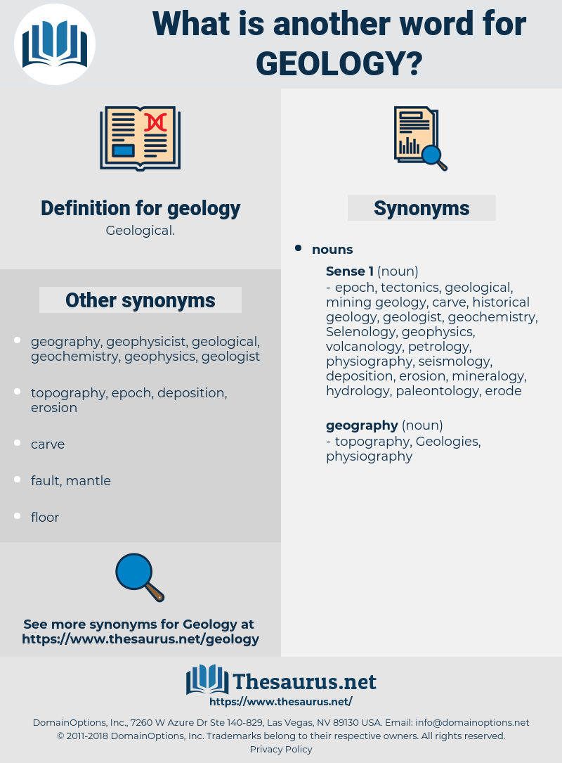geology, synonym geology, another word for geology, words like geology, thesaurus geology