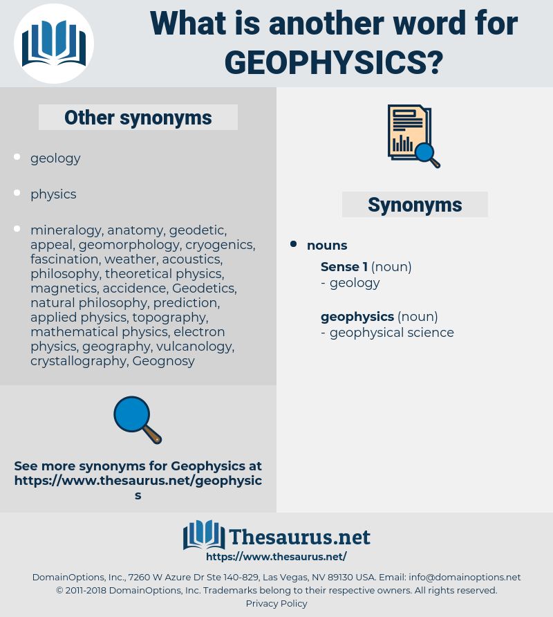 geophysics, synonym geophysics, another word for geophysics, words like geophysics, thesaurus geophysics