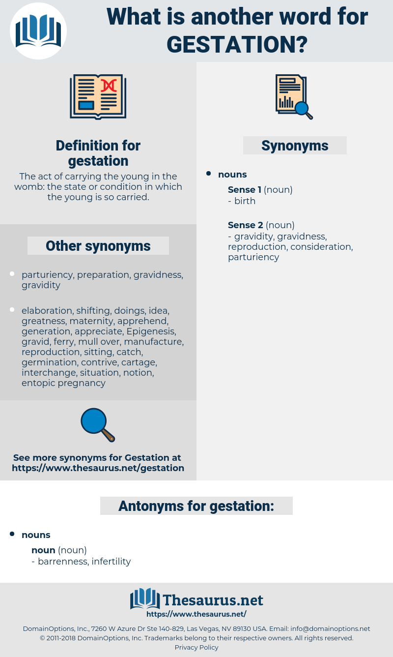 gestation, synonym gestation, another word for gestation, words like gestation, thesaurus gestation