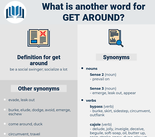 get around, synonym get around, another word for get around, words like get around, thesaurus get around