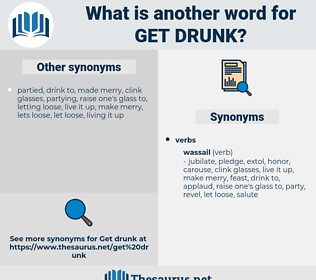 get drunk, synonym get drunk, another word for get drunk, words like get drunk, thesaurus get drunk