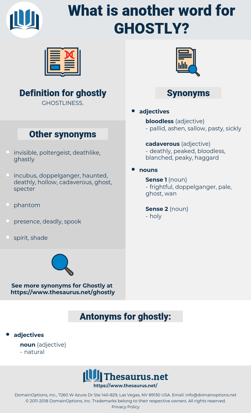 ghostly, synonym ghostly, another word for ghostly, words like ghostly, thesaurus ghostly