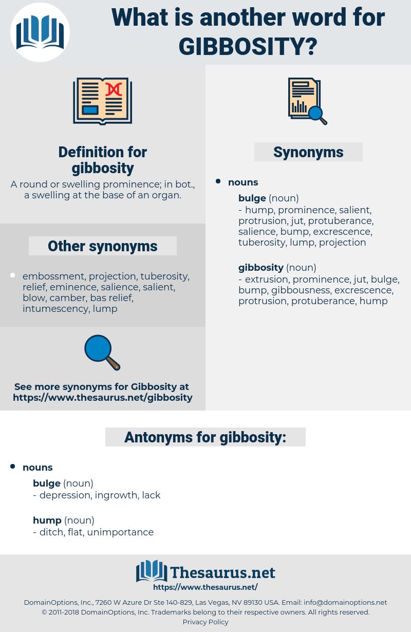 gibbosity, synonym gibbosity, another word for gibbosity, words like gibbosity, thesaurus gibbosity