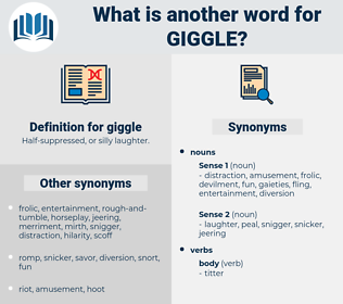 giggle, synonym giggle, another word for giggle, words like giggle, thesaurus giggle