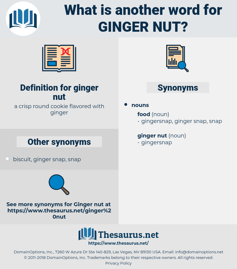 ginger nut, synonym ginger nut, another word for ginger nut, words like ginger nut, thesaurus ginger nut